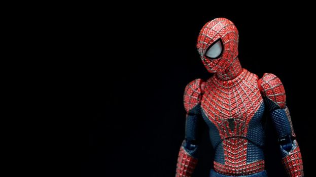 Mafex Amazing Spider-Man 2 01 by Infinitevirtue