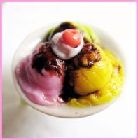 Ice Cream Plate Ring by cherryboop