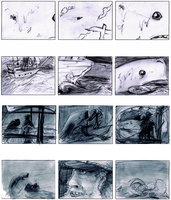 Moby Dick Storyboard Re-do by Mazilw0lf