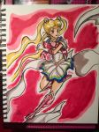 Sailor Moon 1st Attempt with Touch Markers by Lance-Danger