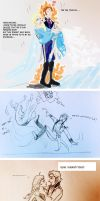 Hans and Elsa, funny moments by lisuli79