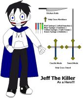 Jeff The Killer...As a Hero!!! by AirSharkSquad