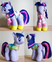 Winter Wrap Up Twilight Sparkle by mylittleplushie