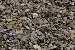 Water worn pebbles by DeaconStrucktor