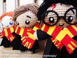 Arjeloops Harry Potter and Friends Crochet Dolls by Arjeloops