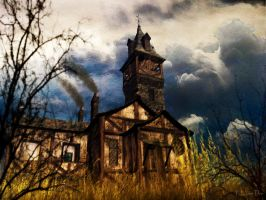 Haunting Tower by ToysoldierThor