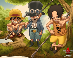 One Piece 585 by Artert