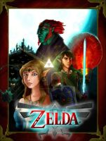 Zelda Poster by super-fergus