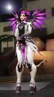 Overwatch - Mercy Imp skin by DarknessRingoGallery