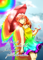 Colorful Life - REDRAW - by CeciliaRinChan