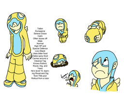 Talbin the Dunsparce by stich76