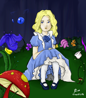 Lost in Wonderland by vanipy05