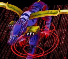 MetalGarurumon by BloodZer0