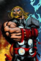 Standing By - Mad - Kokokrans Thor by CJRogue