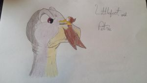 Littlefoot and Petrie by Alicebekett