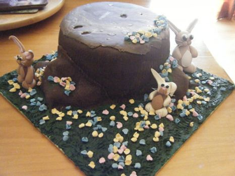 Easter cake by Heavens-Angels