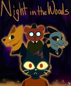 Night In The Woods by Friffin