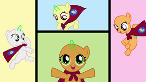 MLP Cutie Mark Crusaders Base by pinay4life001