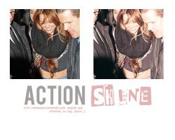 +Action Shine by Heisbieber