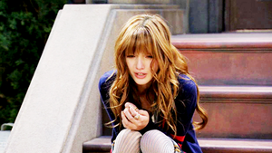 crying on set by Bella--and--Zendaya