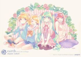 vocaloidxearth by boootajp