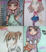 A Year Of Manga by pencil-to-papaer