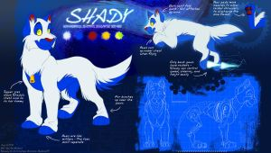 Shady Reference Sheet by Not-Quite-Normal