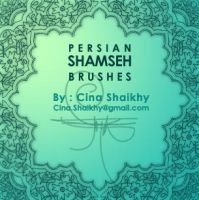 Persian Shamseh Brushes by khakestari
