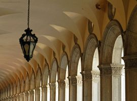 Uniform Repetition (arches at the Doge's Palace) by artamusica