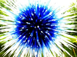 Blue Sun by Chihuly by LSD-Dreams