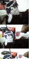 Jeff The Killer Paper child : Lollipop? by floriyon