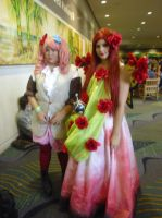 Megacon '13: Charlotte and Gertrude by NaturesRose