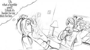 -RQ- Valkyria tickle session by Toes2X5