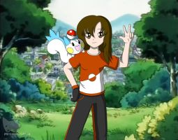 Pokemon Trainer for Lovely-girl03 by MegamanXstream