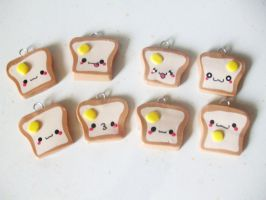 Toast Charms by Number1FMAfangirl
