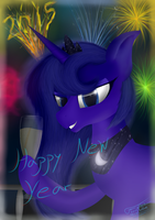 Happy New Year[2015] by Fancymareinblue