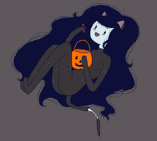 Halloween Marceline by chocoellie
