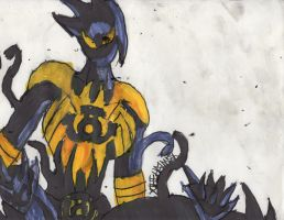 Mania sinestro corps by ChahlesXavier