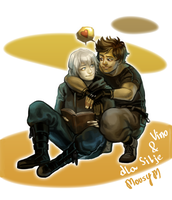 Hidde and Isaac by MousyM