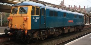 The Class 87 by CJSutcliffe