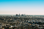 Los Angeles Cityscape by Doneofficial