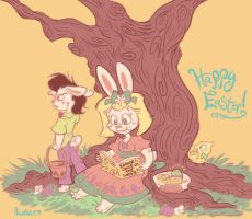 Easter 2014 by LambityMoon