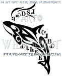 Cherokee Orca Tribal Design by WildSpiritWolf