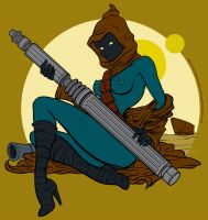 Lady Jawa by PeteMcDonough