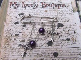 cross charms by TheLovelyBoutique