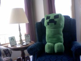 Creeper Plush by Between-Winds
