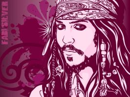 Jack Sparrow by studiocartoon