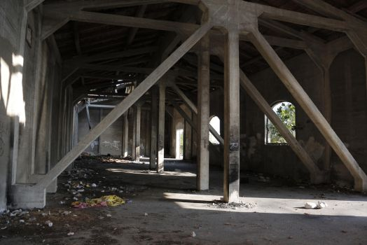 Abandoned Warehouse 3 by Very-Free-Stock