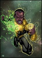 Sinestro by BrokenNoah