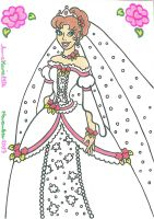 Bride Princess Estrella by AnneMarie1986
